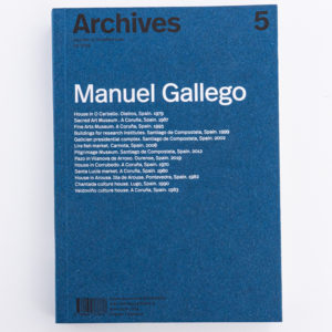 «Archives» de Manuel Gallego
