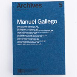 """""""Archives"""" de Manuel Gallego"""